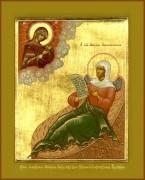 Рукописная икона Матрона Анемнясевская