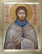 Рукописная икона Святой Адриан Пошехонский