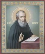 Рукописная икона Нектарий Печерский