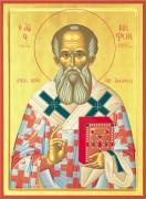 Рукописная икона Нифонт Константинопольский