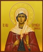 Рукописная икона Стефанида Дамасская