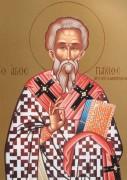 Рукописная икона Павел Исповедник