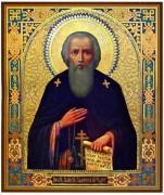 Рукописная икона Паисий Галичский