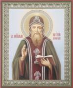 Рукописная икона Паисий Печерский