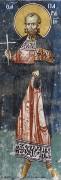 Рукописная икона Парамон Вифинский