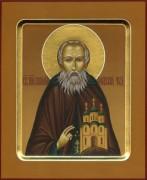 Рукописная икона Пафнутий Боровский