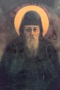 Рукописная икона Пафнутий Печерский