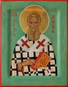 Рукописная икона Петр Аргосский
