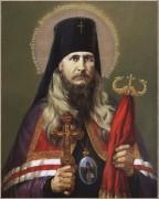 Рукописная икона Петр Воронежский
