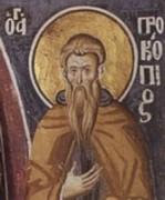Рукописная икона Прокопий Декаполит