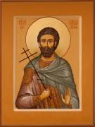 Рукописная икона Савва Готфский