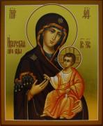 Рукописная Иверская икона Божией Матери 5