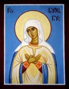 Рукописная икона Сидония