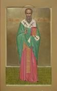 Рукописная икона Сикст Римский