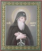 Рукописная икона Сильвестр Печерский