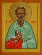 Рукописная икона Стефан Казанский