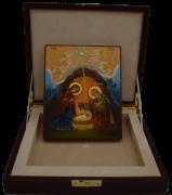 Кожаный футляр под рукописную икону