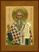Рукописная икона Феодор Сикеот