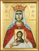 Рукописная икона Феодора Греческая