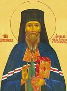 Рукописная икона Феофан Соликамский