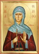 Рукописная икона Филофея Афинская