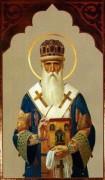 Рукописная икона Фотий Московский