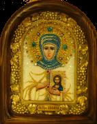 Икона из бисера Анфиса Мантинейская