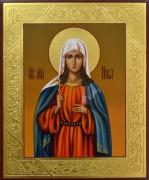 Рукописная икона Ника Коринфская