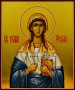 Рукописная икона Фекла Иконийская