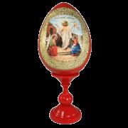 Пасхальное яйцо Воскресение Христово большое