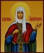 Рукописная икона Ирина Константинопольская