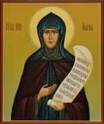 Рукописная икона Рахиль Бородинская, прп.