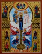 Рукописная икона Ключ Разумения