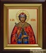 Рукописная икона Игорь Черниговский
