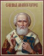 Рукописная икона Святитель Николай масло