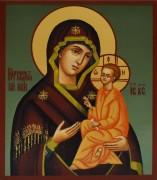 Рукописная Югская икона Божией Матери