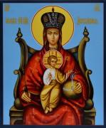 Рукописная икона Державная