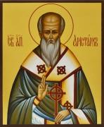 Рукописная икона Аристарх Апостол от 70-ти