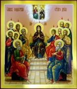 Рукописная икона Сошествие Святого Духа