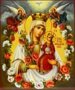 Рукописная икона Неувядаемый Цвет масло