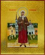 Рукописная икона Ксения Петербургская 2