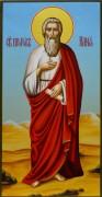 Рукописная икона Илия Пророк живопись 2
