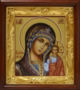 Рукописная Казанская икона Божией Матери 7