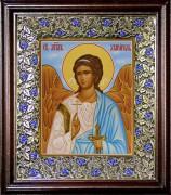 Рукописная икона Ангел Хранитель для ребенка 3