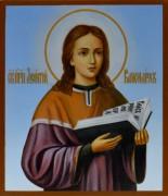 Рукописная икона Леонтий Печерский Канонарх