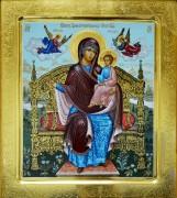 Рукописная икона Экономисса (Домостроительница) 2