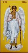 Рукописная икона Ангел Хранитель 9