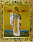 Рукописная икона Тимофей Петропавловский