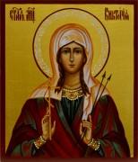 Рукописная икона Виктория Кордубская 2