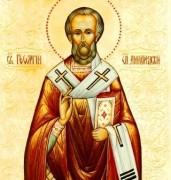 Рукописная икона Георгий Амастридский